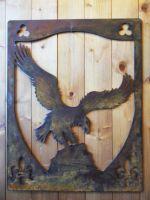 Panneau décoratif eagle effet corten