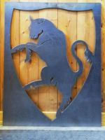 Panneau décoratif taureau