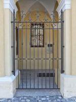 Porte fixe forgée