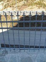 Ringhiera recinzione chiodata